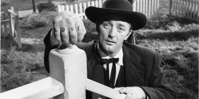 Harry Powell in The Night of the Hunter