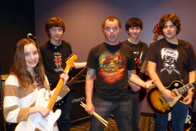 The Kids in School of Rock