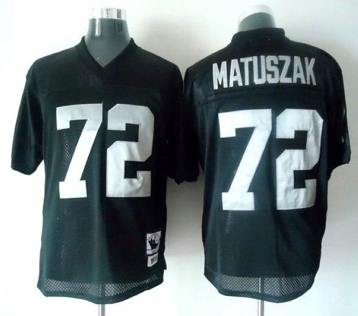 -can-mix-player-size-American-football-jersey-Oakland-Raiders-72-John-Matuszak-black-jersey