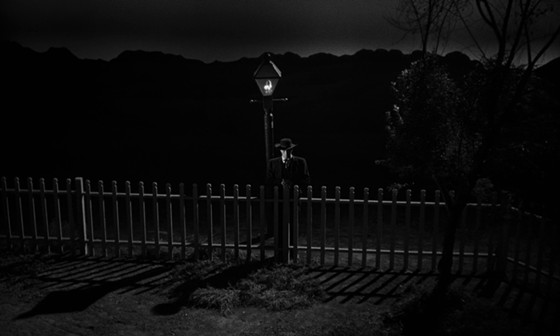 the night of the hunter cinematography
