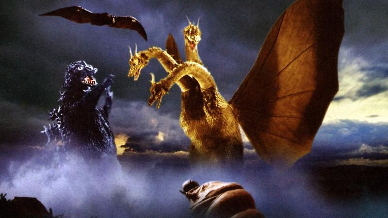 Ghidorah, The Three Headed Monster