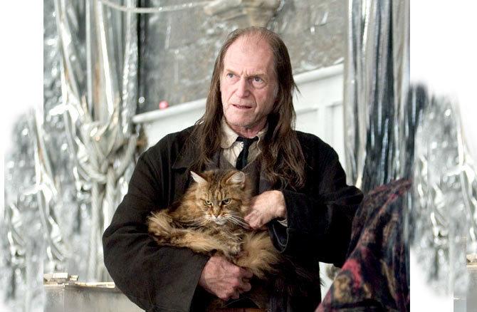 Mr. Filch, Harry Potter