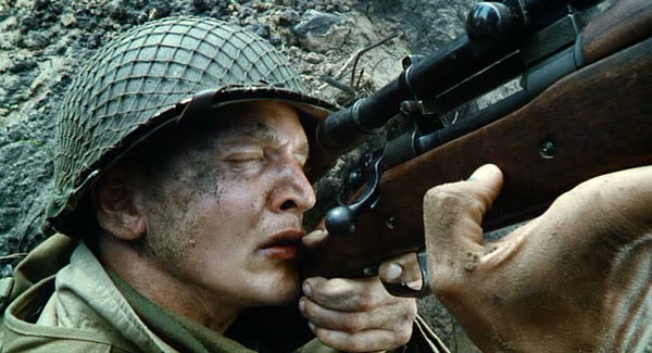 Pvt Jackson, Saving Private Ryan