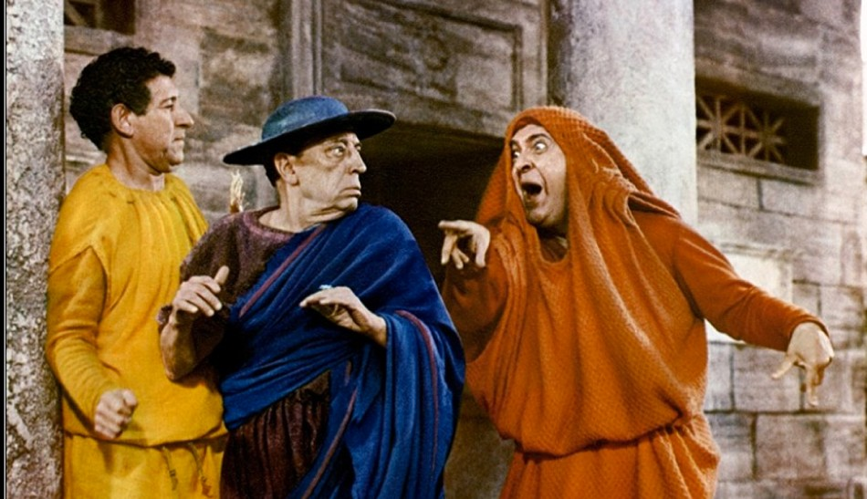 Buster Keaton in A Funny Thing Happened on the Way to the Forum