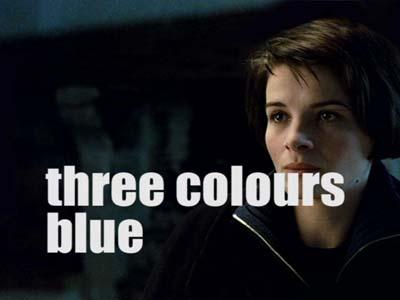 three colors blue