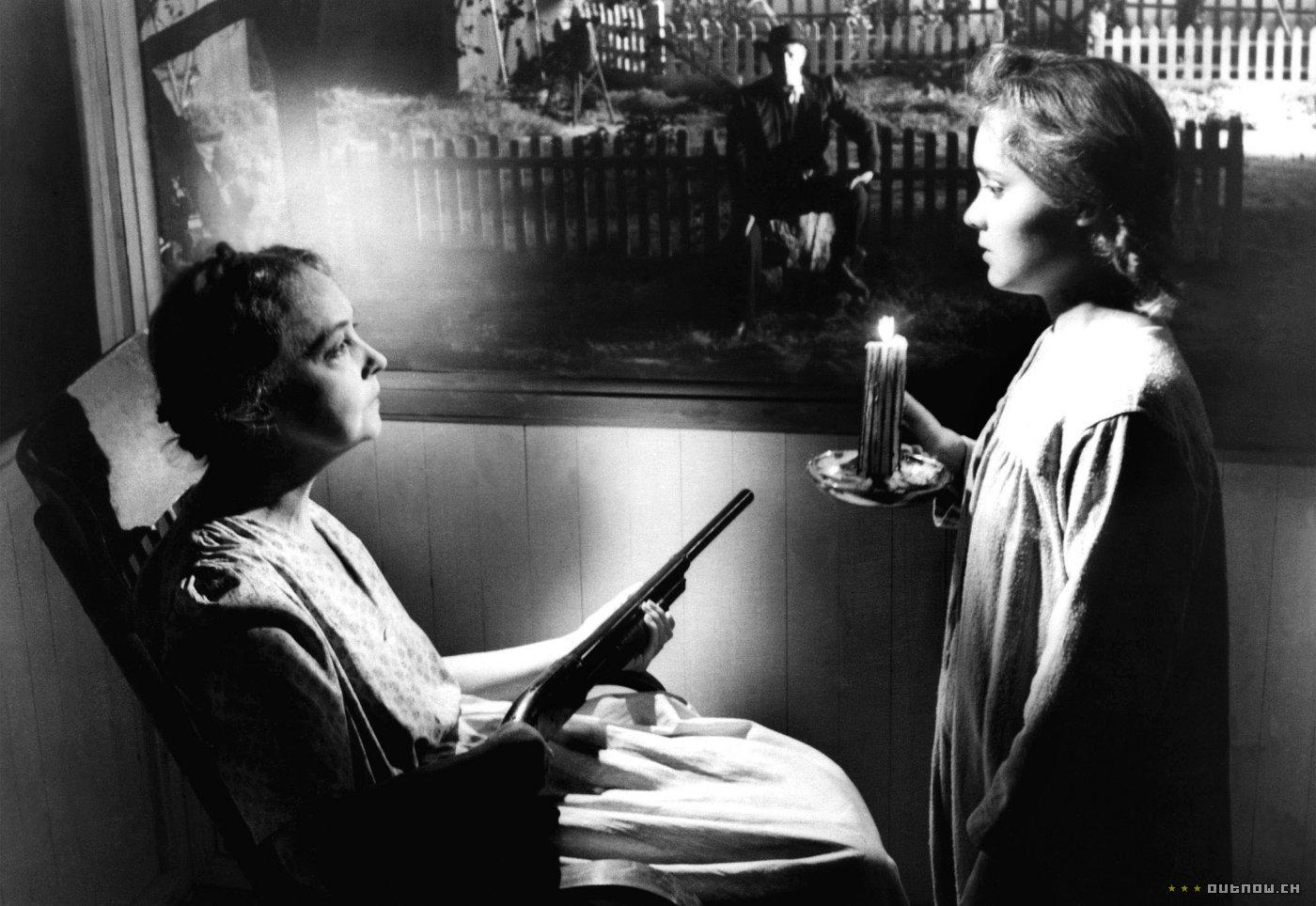 the night of the hunter Lillian Gish