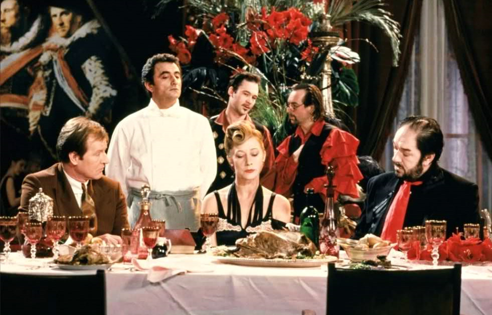 The Cook, The Thief, His Wife & Her Lover (Directed by Peter Greenaway, 1989)