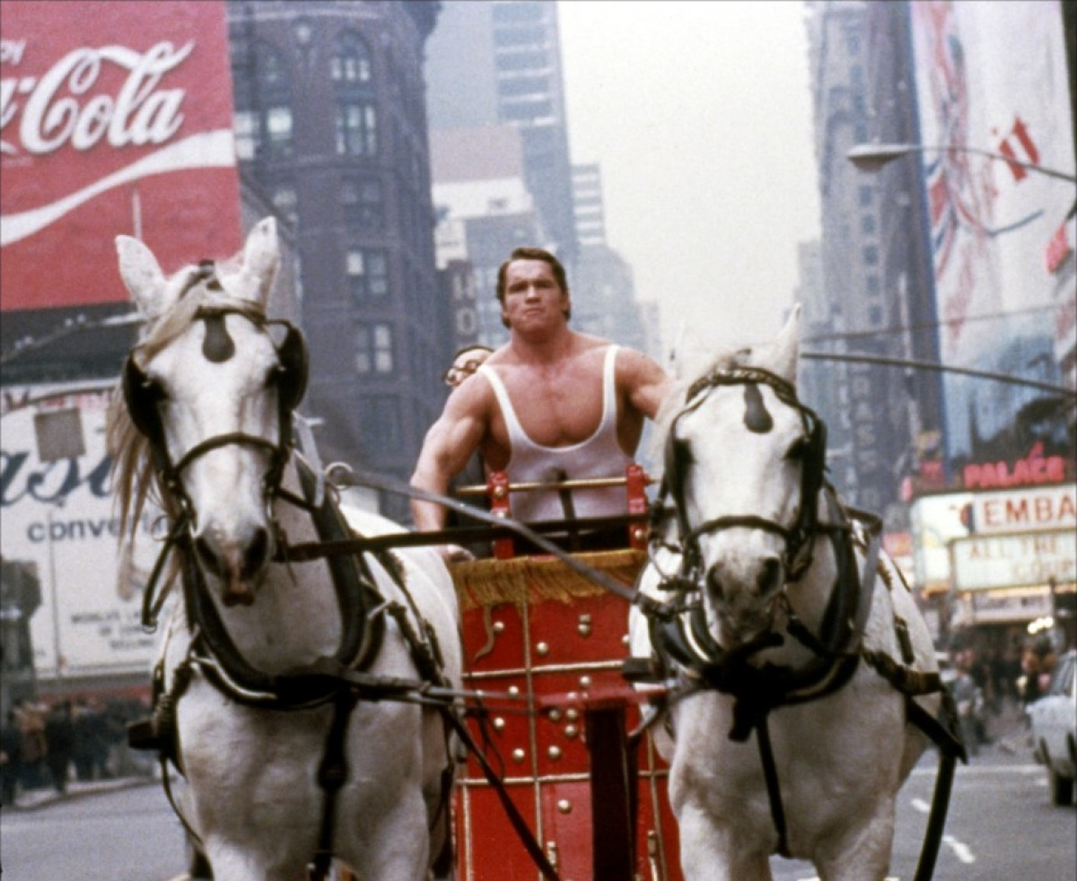 Hercules in New York (1969)