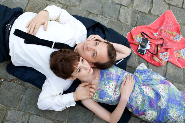 Carey Mulligan and Peter Sarsgaard An Education movie image
