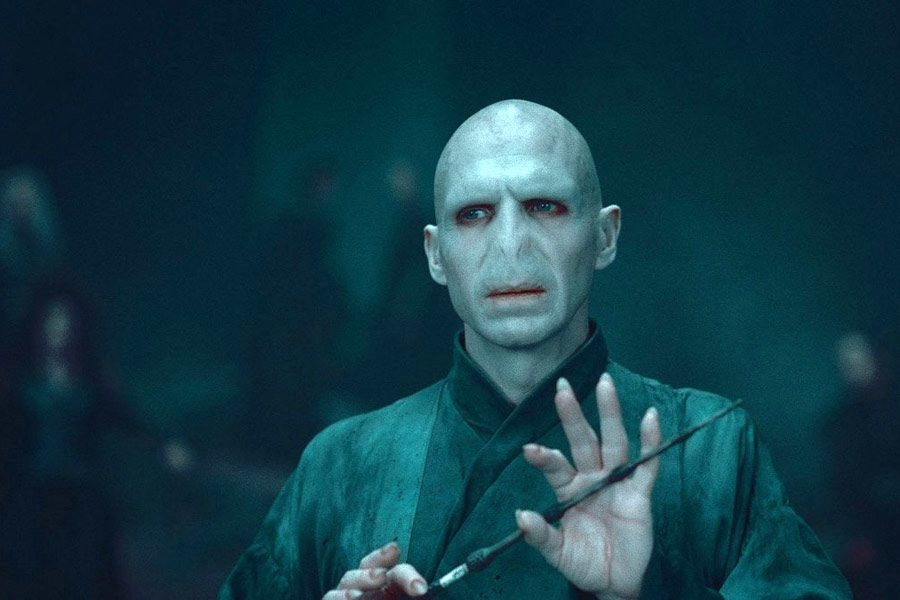 Ralph Fiennes as Lord Voldemort