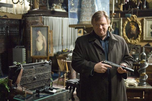 In Bruges movie image Brendan Gleeson