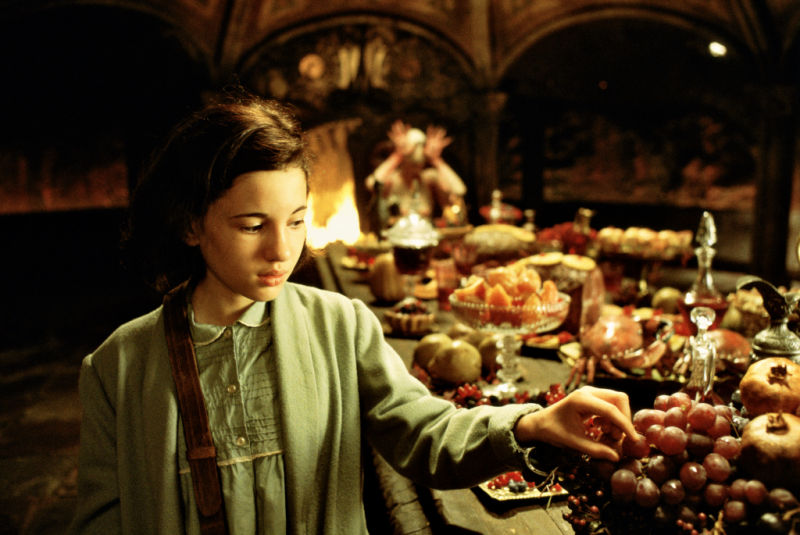Ivana Baquero in Pan's Labyrinth