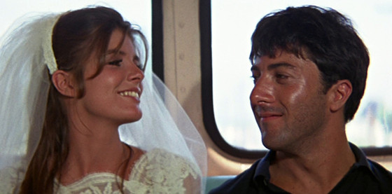 At the end of The Graduate, the director kept the camera rolling without telling the actors