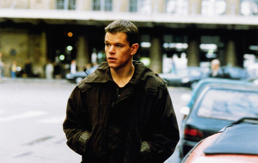 THE BOURNE IDENTITY, Matt Damon, 2002, © Universal