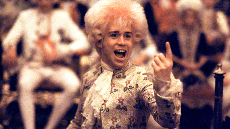 Amadeus(1984) Tom Hulce Credit: Warner Bros./Courtesy Neal Peters Collection