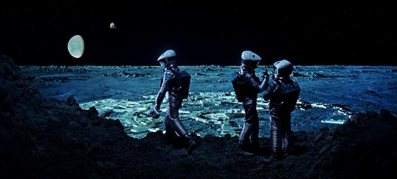 space odyssey moon landing