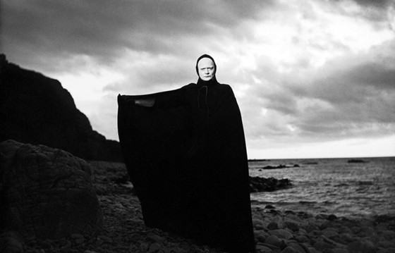 Bengt Ekerot as Death in The Seventh Seal