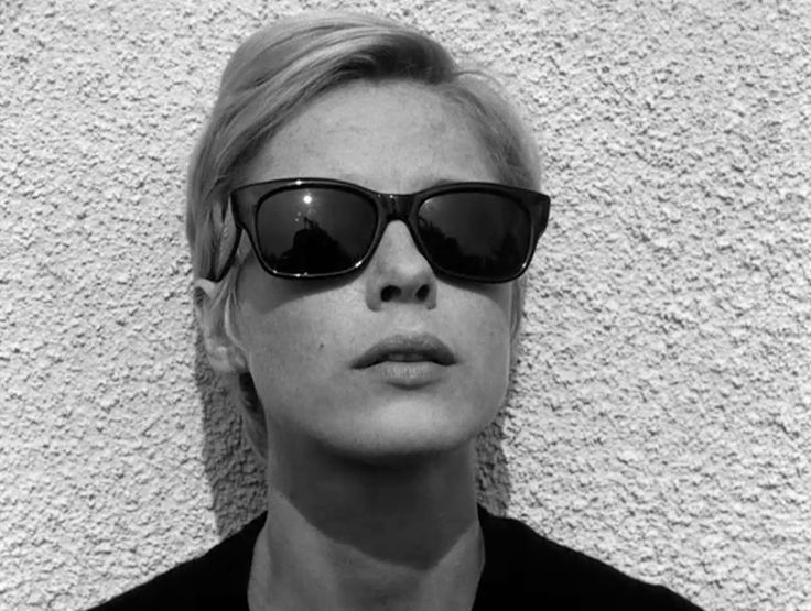 Bibi Andersson as Alma in Persona