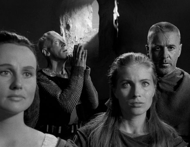 Gunnel Lindblom as the Girl in The Seventh Seal