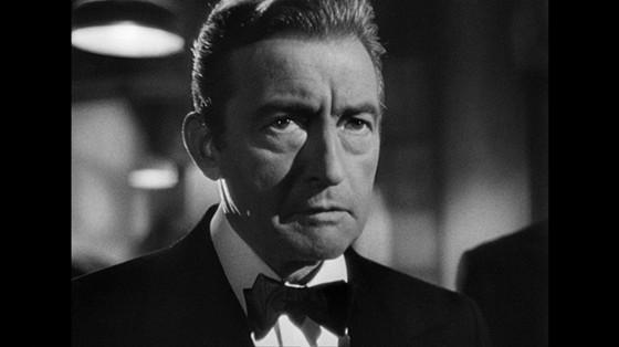 Claude Rains as Alex Sebastian in Notorious (1946)