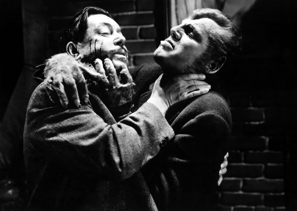 WEREWOLF OF LONDON, Warner Oland, Henry Hull, 1935, strangle