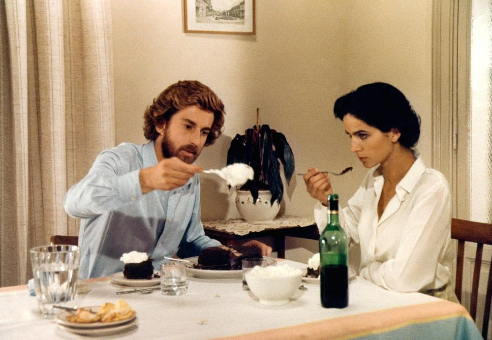BIANCA, from left: Nanni Moretti, Laura Morante, 1984