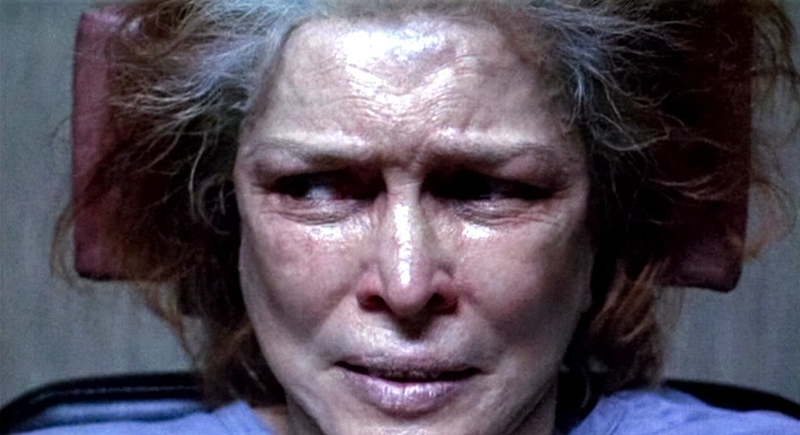 Still from the 2000 American film Requiem for a Dream featuring Ellen Burstyn
