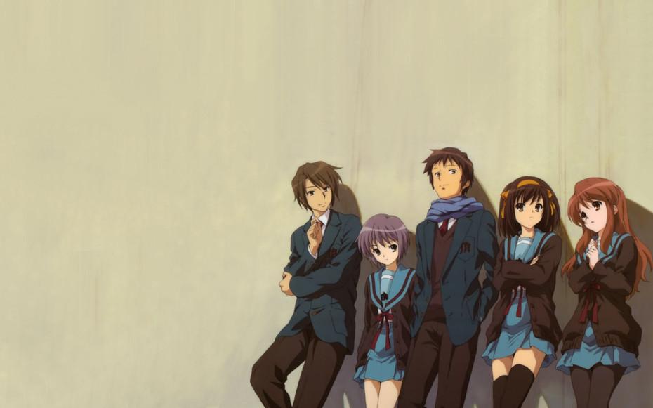 The Disappearance of Haruhi Suzumiya