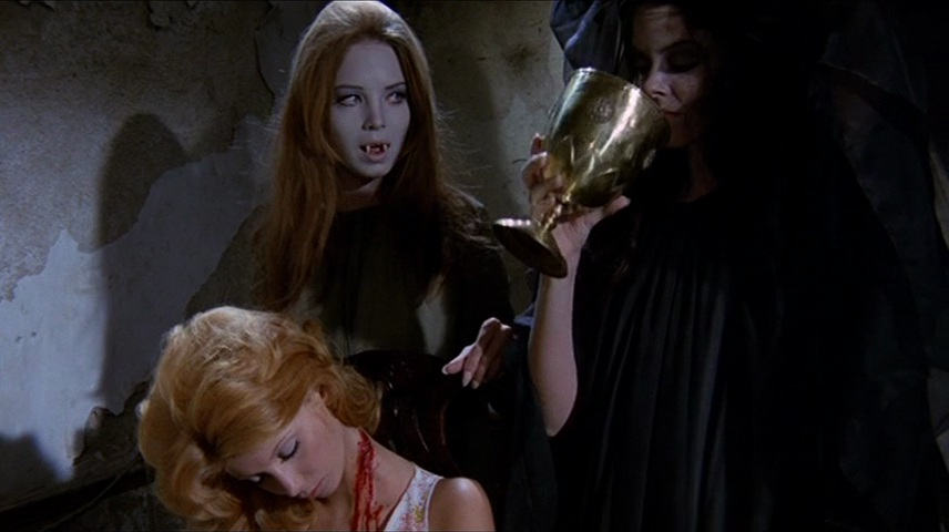 The Werewolf versus the Vampire Woman