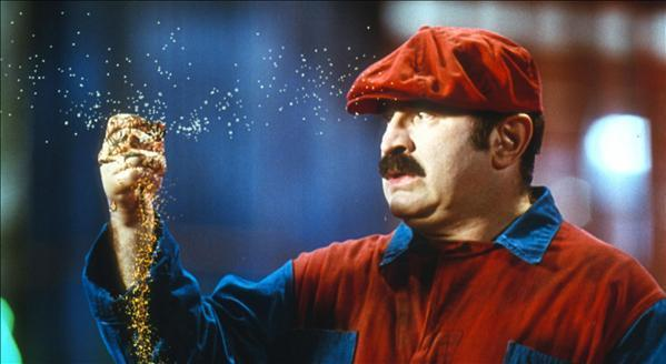 Bob Hoskins for Super Mario Brothers