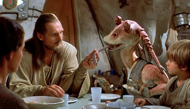 Jar Jar Binks - Star Wars I The Phantom Menace