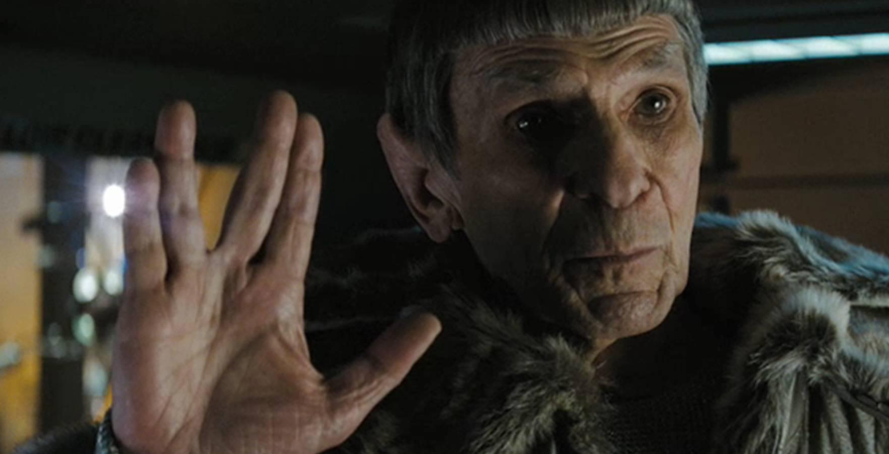 Leonard Nimoy in Star Trek into Darkness