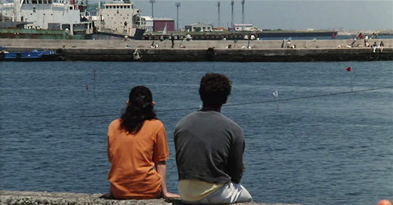A Scene By The Sea