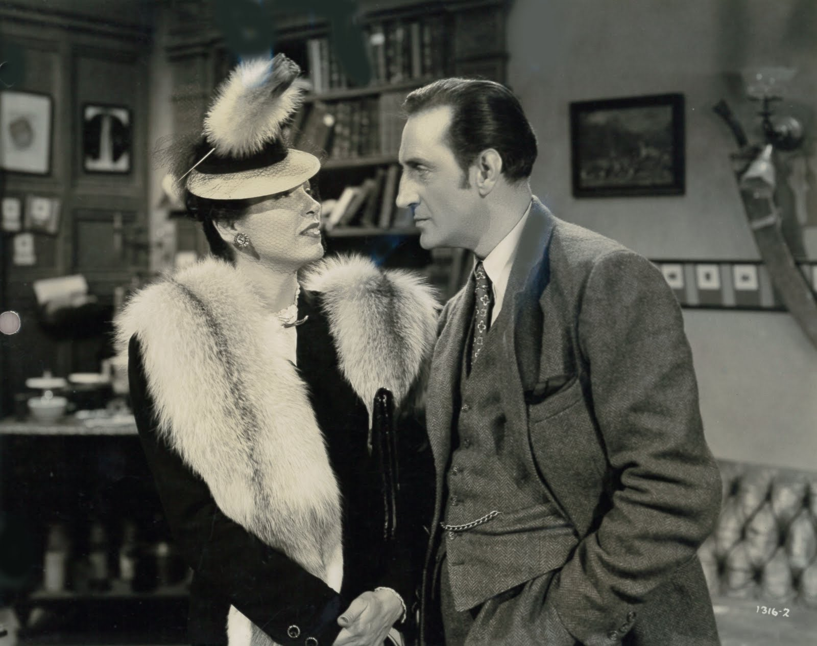 Sherlock Holmes and the Spider Woman (1944)