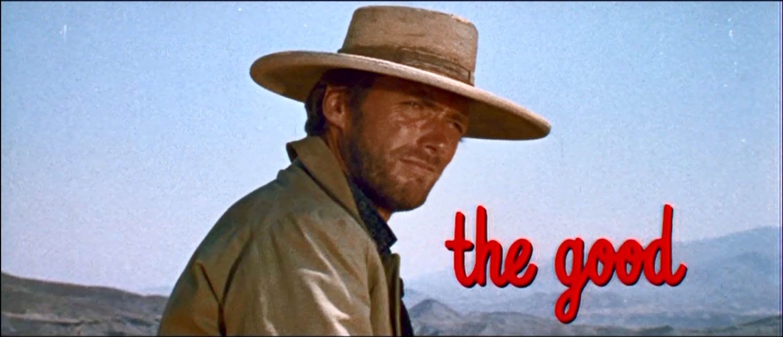 the good the bad and the ugly - 1966 - the good