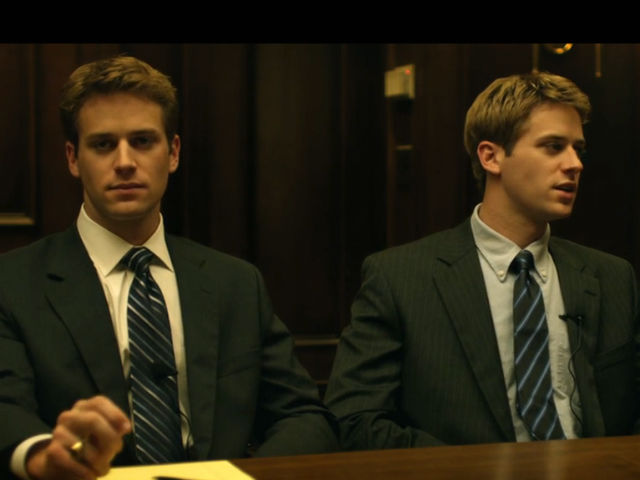 Armie Hammer in The Social Network (2010)