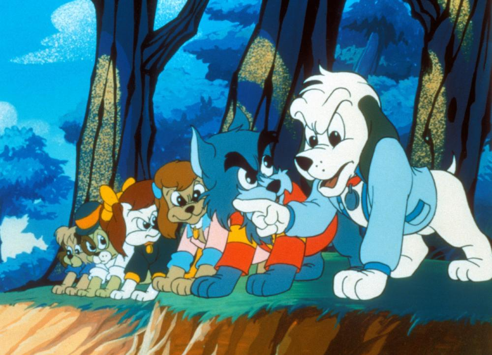 POUND PUPPIES AND THE LEGEND OF BIG PAW, Cooler (right), 1988, ©TriStar Pictures