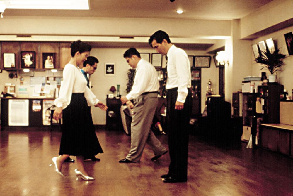 SHALL WE DANCE?, (aka SHALL WE DANSU?), Reiko Kusamura, Yu Tokui, Hiromasa Taguchi, Koji Yakusho, 1996, (c) Miramax