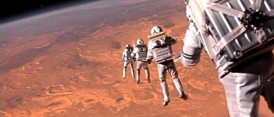 Mission to Mars (2000) Spacewalk