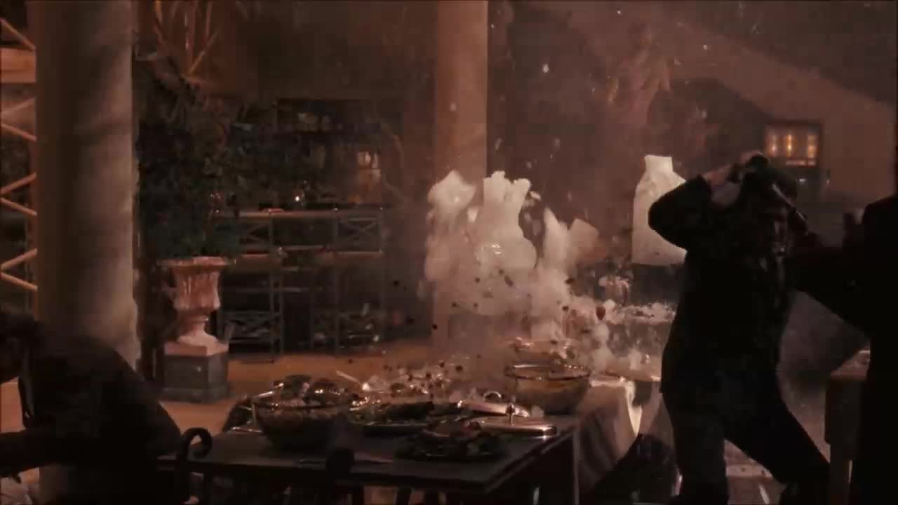 Helicopter murder scene from The Godfather Part III