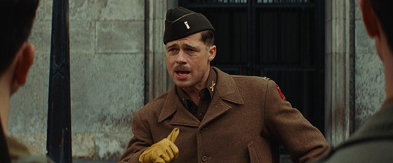 Lt. Aldo Raine from Inglourious Basterds