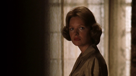 The door closes on Kate from The Godfather