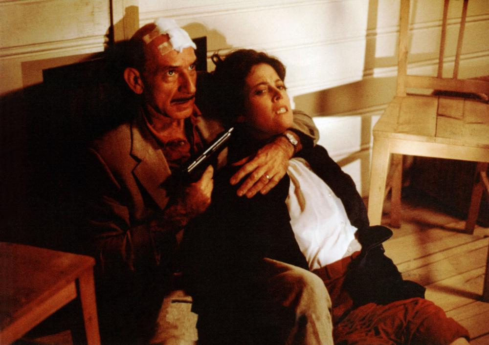 DEATH AND THE MAIDEN, from left: Ben Kingsley, Sigourney Weaver, 1994. ©Fine Line Features