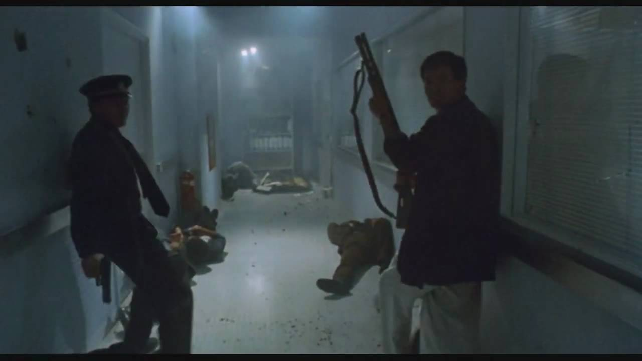 Hospital Shootout in Hard Boiled