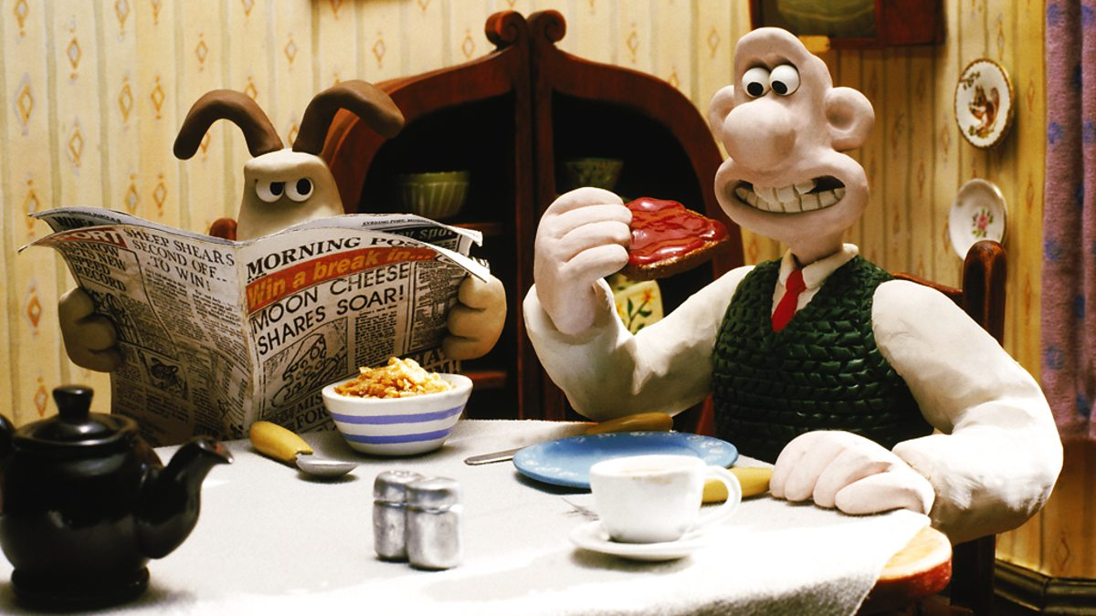 Wallace & Gromit The Wrong Trousers (1993)
