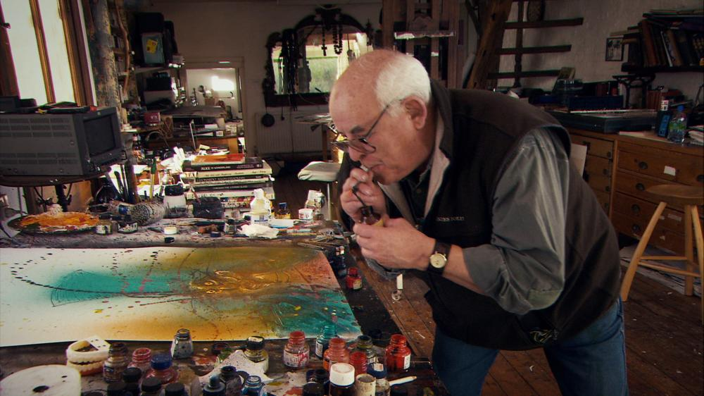 FOR NO GOOD REASON, Ralph Steadman, 2012. ph: Charlie Paul/©Sony Pictures Classics