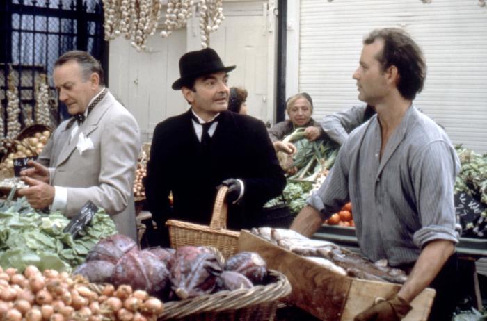 THE RAZOR'S EDGE, Denholm Elliot, Andre Maranne, Bill Murray, 1984. (c) Columbia Pictures/.
